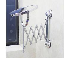 GAOMEI -Double salle de bain vanité miroir miroir télescopique salle de bain mural miroir pliante