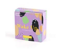 Wellness Wonders, Douche Vapeur Bombs - Wake Up (Parfum menthe poivrée, romarin et gingembre)