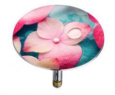 Wenko 21840100 Pluggy Bouchon de Baignoire Orchid Multicolore Taille XXL 7,5 x 7,5 x 5,5 cm