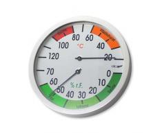 eliga Klimesser Blanc 120 mm pour sauna vital/infrarouge