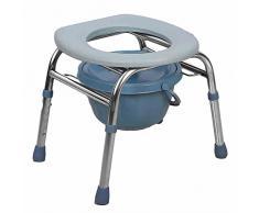 ZHANGRONG- Vieil Homme Toilette Chaise Pliable Femme Enceinte Toilette Siège Toilette Tabouret Hémorroïdes Bidet