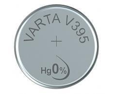 'VARTA 14501395 Sauna Motif oxyde d'argent Pile Bouton V395 Argent