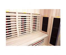 Sauna Boreal® 160 Infrarouge à Spectre Complet - 160x120x200