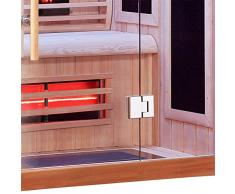 Sauna Boreal® 110 Infrarouge à Spectre Complet - 110x110x200