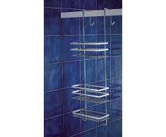 Rangement Étagère de douche à suspendre Chromé Fabriqué en Suède 79 cm par Norwood