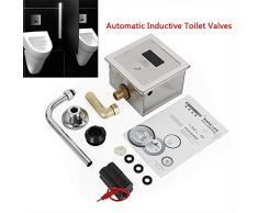 HYLH Support Mural Automatique de décharge de Valve d'urinoir de mosaïque de Valve de décharge d'urinoir