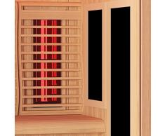 Sauna Boreal® 200 Infrarouge à Spectre Complet - 200x135x200