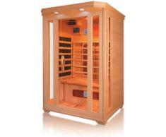 Cabine de chauffage infrarouge, cabine sauna peut accueillir jusquà 2 personnes,A
