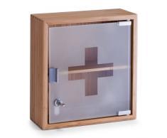 Zeller Armoire à Pharmacie, Bambou, Brun, 31 x 14 x 33 cm