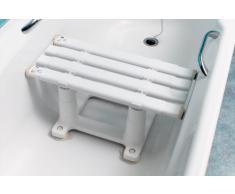 NRS Tabouret pour baignoire Medeci à largeur réglable et 20 cm de hauteur