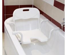 Russka Aluminium Siège de baignoire avec dossier