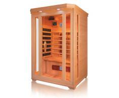 Cabine de sauna à infrarouge pour 2 personnes