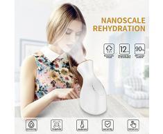 CAPMESSO Vapeur Visage Sauna Facial Spa Nano Ionique Vapeur Visage Soins Vaporisateur Nettoyage Chaude de Jet Humidificateur Appareil 70ML