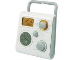 Radio de douche Renkforce D-R9005 blanche