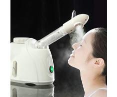 Ozone Facial Visage Spa Sauna Vapeur Vapeur Visage Machine De Pulvérisation Soins De La Peau Nettoyant En Profondeur Brouillard Eau Nébuliseur