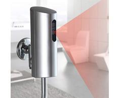 HNLHAKER Touchless urinoir Valve, Smart Sensor Urinoir Valve, Montage Mural Automatique du capteur, Urinoir Valve Salle de Bains Toilettes Touchless urinoir Valve, pour la Maison Toilette