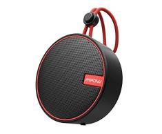 MPOW Soundhot Q2 Radio de Douche, Haut-Parleur Bluetooth, Enceinte Bluetooth sans Fil étanche IPX7 pour la baignade, Haut-Parleur Portable Bluetooth 5.0 avec Audio Haute fidélité, 18h Playtime