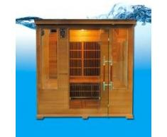 Sauna infrarouge luxe club 4-5 places LUXE4S