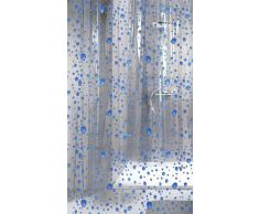Kleine Wolke Bubble Rideau de Douche Bleu 180 x 200 cm