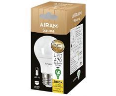 Ampoule LED pour sauna - Hautes températures jusqu'à 60 °C. Bot Lighting 5,5 W, 2 800 °K, 470 lumen