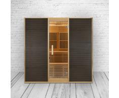 Combinaison modèle de sauna & Cabine infrarouge dans un. – PROMOTION.