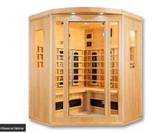 Cabine de sauna à infrarouge Salome Deluxe 4 personnes