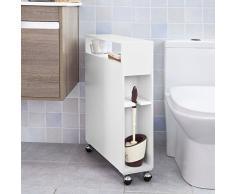 Un porte papier toilette pour vos wc livingo for Meuble a porte roulante