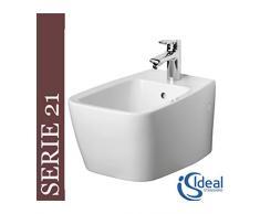 Ideal Standard T515101 Ventuno Bidet suspendu 55 x 36 cm Blanc