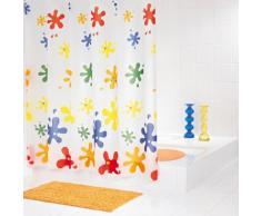 Ridder Splash 338200-350 Rideau de douche avec oeillets Multicolore 180 x 200 cm
