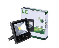 LE Projecteur Extérieur LED 20W, Eclairage Imperméable IP66, Equivalent à Ampoule Halogène 200W, 1500lm, 6000K Lumière Blanche du Jour, LED Eclairage de Sécurité