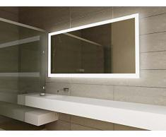 le miroir de salle de bain design et fonctionnel livingo. Black Bedroom Furniture Sets. Home Design Ideas