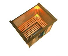 Sauna Traditionnel SONARA à Couronne 40 mm 264 x 198 x 212 cm KARIBU