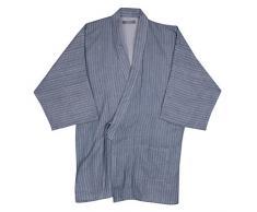 QCHOMEE Femmes Hommes Ensemble Pyjama Coton Peignoir de Bain Couple Chemise Vêtement Kimono Doux Lâche Nuisette Casual Yukata Japonais Confortable pour Maison Hôtel Spa Douche Khan Vapeur Sauna
