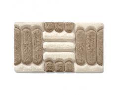 Tapis de bain casa pura® Jill ultra doux | tailles au choix | hauteur du poil env. 4,5cm | lavable - haute qualité | 80x150cm