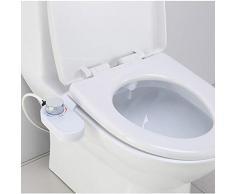 Pulvérisateur de Bidet, Toilette Lavage de Bidet Eau Froide Bidet Buse autonettoyante Contrôle de la Pression de l'eau