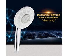 KangHS Pommeau de douche à haute pression réglable avec système de contrôle de température auto-lumineux