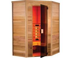 Sauna infrarouge Multiwave angulaire - Holl's - 2/3 places