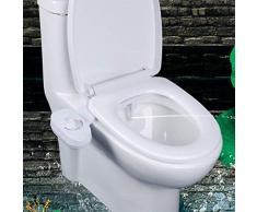 Salle de Bain WC Bidet Attachment Siège Unique Sprinkler Siège de Toilette Portable sanitaire Bidet de pulvérisation d'eau