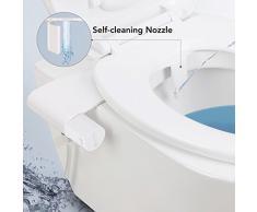 MARNUR Bidet de toilette avec jet deau fraîche et buse autonettoyante pour désinfecter le fond