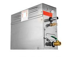 HUKOER 6KW Steam Generato, Vapeur de sauna 220V avec commandes programmables étanches pour baignoire de douche d'hôtel à la maison SPA