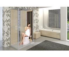 Panneau sauna infrarouge pour douche