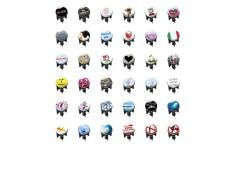 Wenko 20722100 Bouchon de Lavabo Italie Dimensions 4 x 4 x 6,5 cm