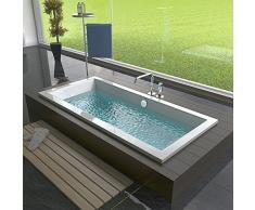 Design Baignoire acrylique 1700 x 750 x 475 mm Baignoire rectangulaire