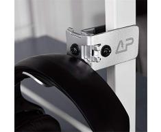 MUXItrade Support pour Casque en Aluminium Complet Stand Casque Ecouteurs sous Le Bureau Porte-Casque - Argent