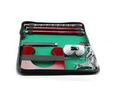 BW intérieur de Golf-Creative Executive Coffret cadeau intérieur complet Putter Tige Mini Set de putter de golf Golf Vert. Entraînement à la maison, dans votre bureau ou Divertir vos invités dans une nouvelle façon