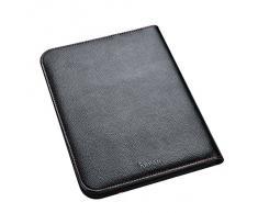 Arpan A4 New Style toucher doux rembourré portefeuille Office Conférencier Noir