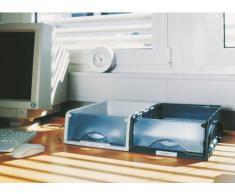 Leitz Sorty Corbeille à Courrier en Polystyrène 100% Recyclable A4 - Gris