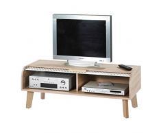 Meuble TV à rideau - ARKOS n°4 - L 119 x l 45 x H 42