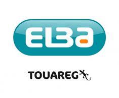 Elba Touareg Boîte de classement Dos 35 mm 24 x 32 cm Beige