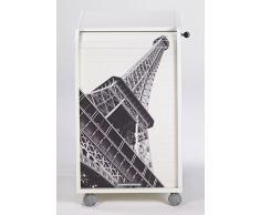 Caisson mobile à rideau - ORGA 70 - Paris - Tour Eiffel - Blanc